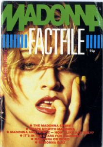 MADONNA FACT FILE No.1 - UK MAGAZINE 1985 SPECIAL